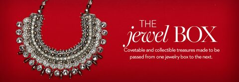 Jewelry | Newsworthy necklines | Add instant glam with jewelry that makes a statement