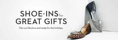 Shoe-Ins for Great Gifts | Flat-out fabulous and ready for the holidays.