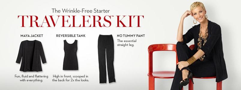 Image. Skyler Skinny Travel Pants