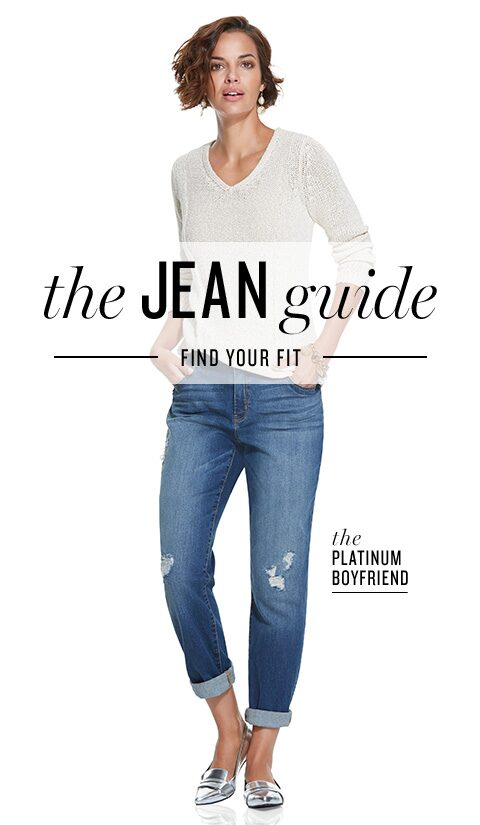 The Jean Guide | Find Your Fit | the So Lifting™ Slim Leg
