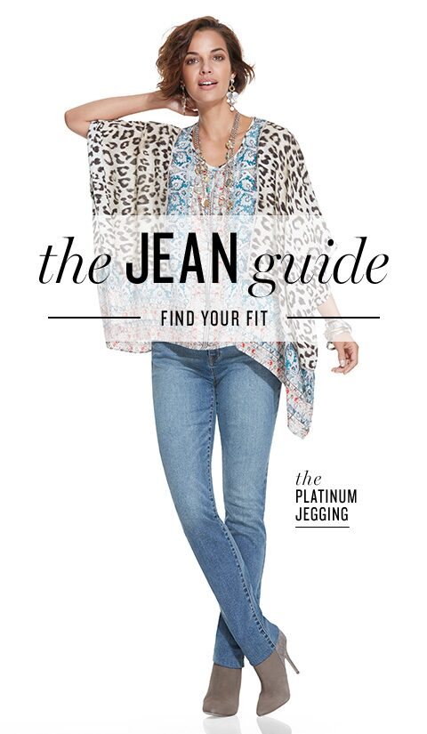 The Jean Guide | Find Your Fit | the Platinum Jegging