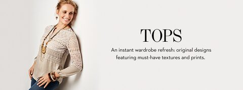 An instant wardrobe refresh: original designs featuring must-have textures and prints.
