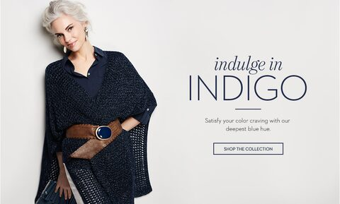 indulge in indigo | Shop the collection
