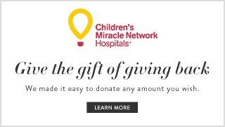Children's Miracle Network | Give the gift of giving back, We made it easy to donate any amount you wish. | click to learn more