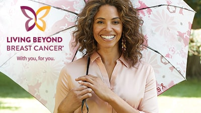 Living Beyond Breast Cancer. With you, for you.