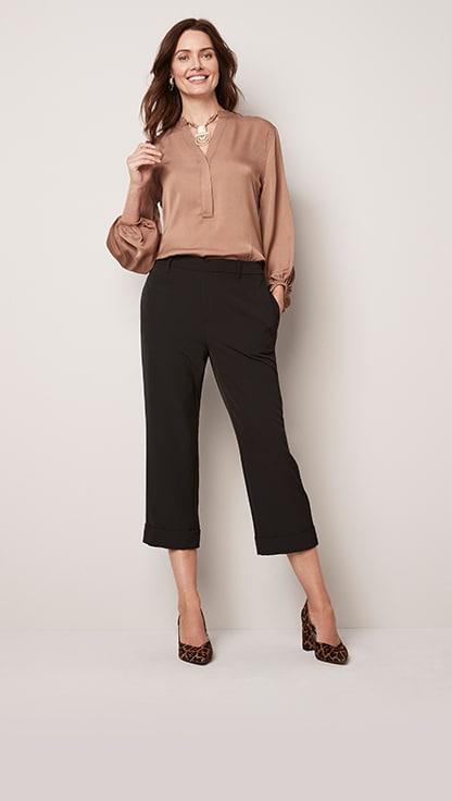 Womens Ladies Check Jacquard Cotton Full Length Fashion Leggings
