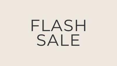 Flash Sale, 50% Off Full-Priced Styles