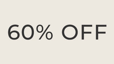 60% OFF ALREADY-REDUCED STYLES